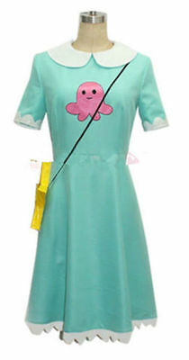 Star vs.the Forces of Evil Magic Princess Star Butterfly Dress Cosplay Costume