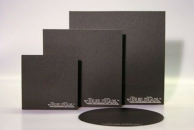 "BuildTak 6.5""x6.5"" (165x165) 3D printer Build platform replaces Kapton"