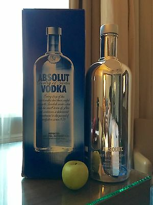 Absolut Vodka Electrik Silver 4,5 Liter Big Mama (empty)