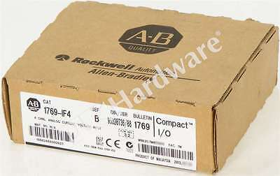 New Sealed Allen Bradley 1769-IF4 /B 1769-1F4 CompactLogix Current/Voltage Input