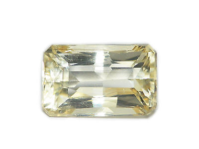 10.27 Cts Certified Loose Gem Natural Octagon Cut Yellow Scapolite Ceylon-14892