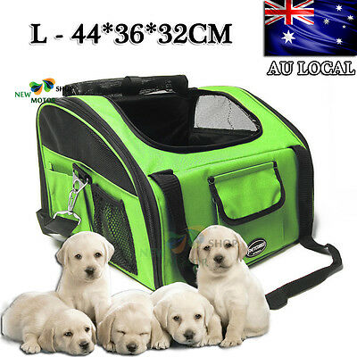 Large Pet Carrier Dog Cat Car Booster Seat Soft Crate Portable Cage Travel Bag