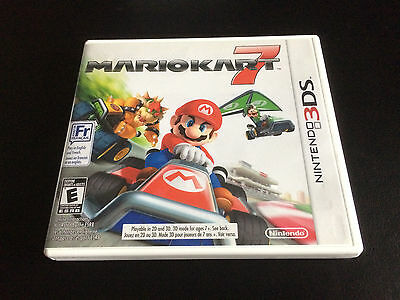 Mario Kart 7 - Nintendo 3DS - Complete in Box CIB - Great Condition!