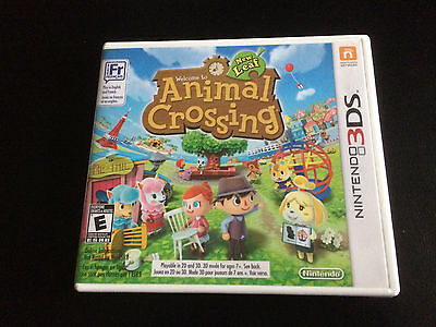 Animal Crossing: New Leaf - Nintendo 3DS - Complete in Box CIB - Great Condition