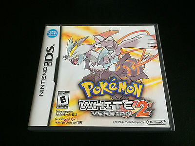 Pokemon: White Version 2 - Authentic - Nintendo DS - CIB Complete in Box