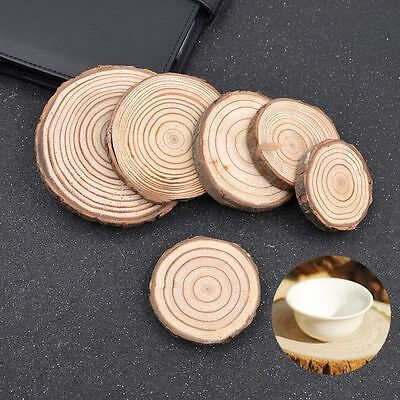 Landscaping Wedding Decor Rustic Decoration Accessories Coasters DIY Craft