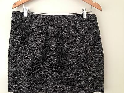 Country Road Wool Blend Grey Skirt Size 12