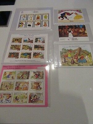 Disney's Stamps From St Vincent (6 in Total) with 1 free @@@ Must Look @@@