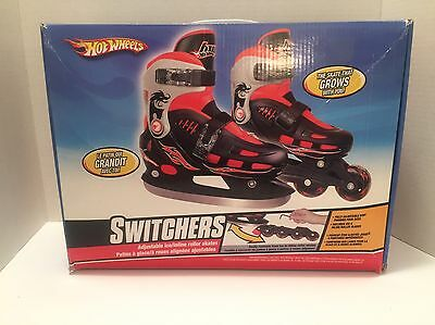 Hot Wheels Switchers Ice Skates And Roller Skates In One.