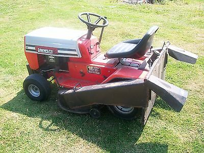 Mtd Lawnflite 16Hp 40 Inch Cut Twin Bagger Grass Collect Ride On Tractor Mower.