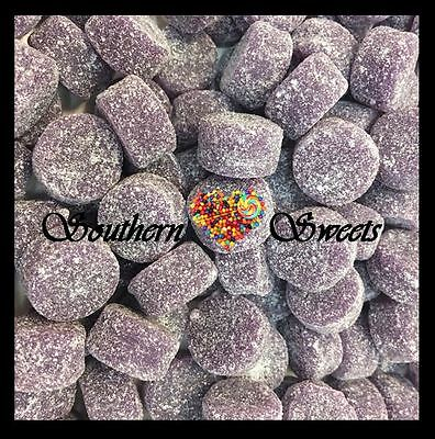 1Kg Purple Lollies Soft Jubes Candy Buffet Lollies Gluten Free Grape Flavour