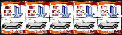 Triumph Auto Icons Strip Of 10 Stamps Triumph 13/35