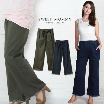 Pantalone denim premaman a vita regolabile Adjustable waist maternity trousers
