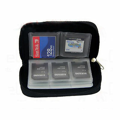 22 Pcs Memory Card Wallet Micro SD SDHC CF SM Protect Storage Holder Pouch Case