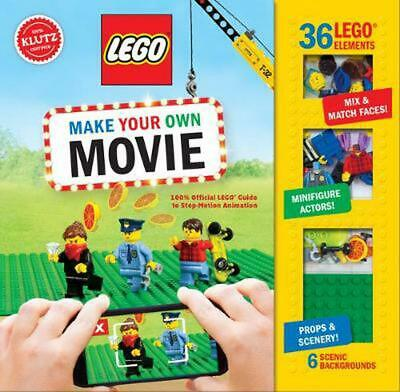 Lego Make Your Own Movie by Pat Murphy Book & Merchandise Book Free Shipping!