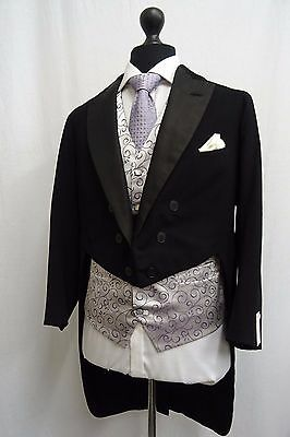 Men's Vintage 1930's Morning Coat Swallow Tail Tailcoat Size 38 SS9625