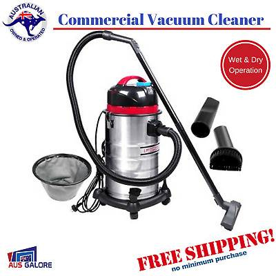 Portable Bagless Dry Wet Vacuum Stainless Steel Body Cleaner 30L Vaccum 1400W