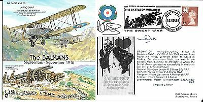 """80th Anniversary Signed Flight Cover """"The Balkans"""""""