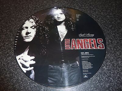 "Little Angels 12"" Picture Disc 'sail Away' The Acoustic Sessions Excellent/mint"