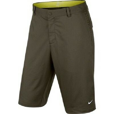 SAVE £££ Nike Golf Slim-Fit Modern Tech Shorts Dri-Fit - Size 32 - Green RRP £45
