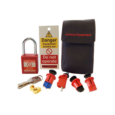 **CLEARANCE** Advanced Testmate Safe Isolation Lock Off Kit 3