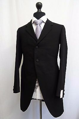 Men's Vintage Bespoke 1930's Morning Coat Swallow Tail Tailcoat Size 36 SS9633