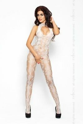 weißer ouvert Bodystocking BS009