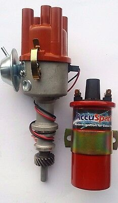 Ford Pinto Electronic Distributor & 3 Ohm Coil for Escort RS 2000 & 2L Cortina
