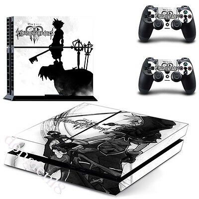 Game Kingdom Hearts Sony PS4 Playstation 4 Skin Aufkleber Schutzfolie Sticker