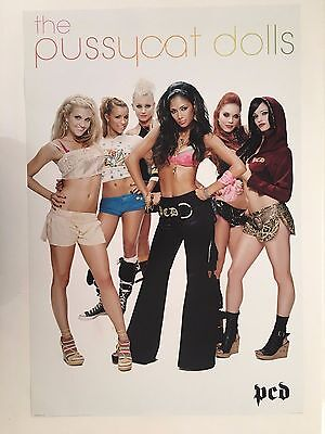 The Pussycat Dolls,music Band, Authentic,2006 Poster