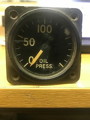 Raf Aircraft Oil Pressure Gauge An5771-2A