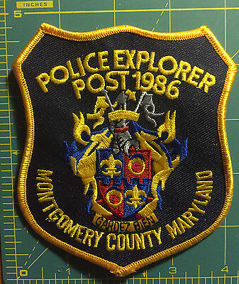 Montgomery County, MD Police Explorer Post 1986 patch