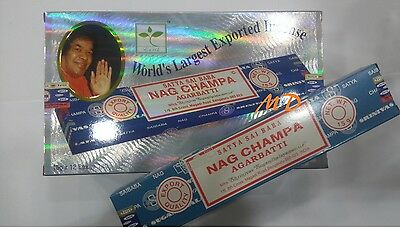 Incienso Satya, Nag Champa, Super Hit, Goloka, Cajon A Granel Inciense Wholesale
