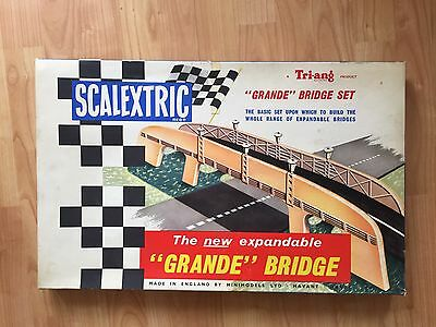 Scalextric Grande Bridge Set, Near Mint Condition. Collectors. Extremely Rare
