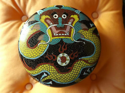 Antica scatola cinese arte orientale Cloisonne chinese ancient box