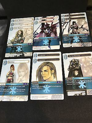 Final Fantasy TCG Opus 2 Ice Rare Cards