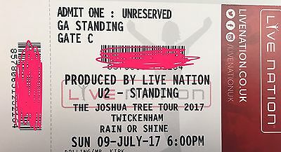 U2 Tickets Joshua tree tour Standing for 2