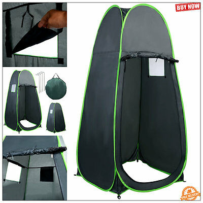 portable shower tent pop up shelter private bath toilet changing room camping
