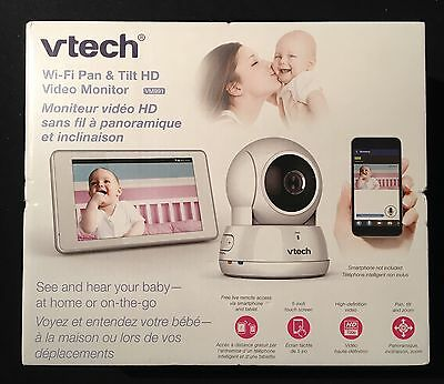 New Vtech VM991 Wi-Fi Pan & Tilt HD Baby Video Monitor **NEW FACTORY SEALED**