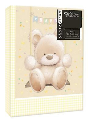 Baby Bear Album (6x4'') Holds 80 Photos Gift Picture Photo Book