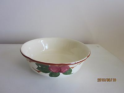 "Franciscan Apple Serving Bowl made in USA 8 3/4"" diameter"