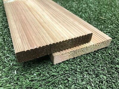 Treated timber decking approx 18 square metres for Tanalised decking boards
