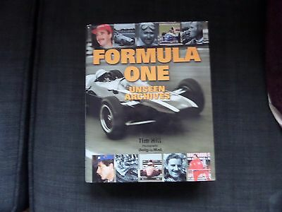 formula one unseen archives.hardback book