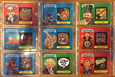 Garbage Pail Kids Apple Pie Patch Set 9 Out If 10