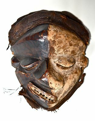Pende Mask Deformation Wood Mask, Democratic Republic of the Congo