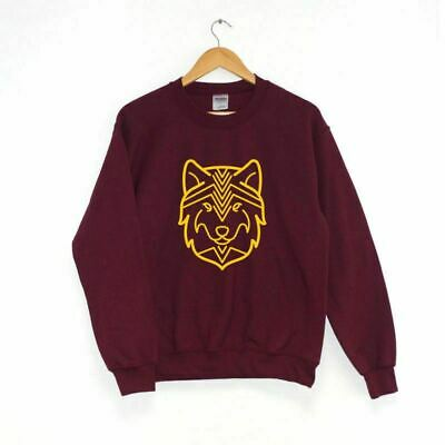 Wolf SWEATER SWEATSHIRT JUMPER Hipster Clothing