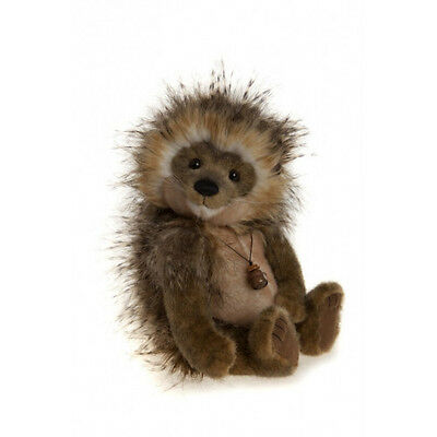 Quill-I-Am Porcupine Stuffed Animal Charlie Bears Jointed