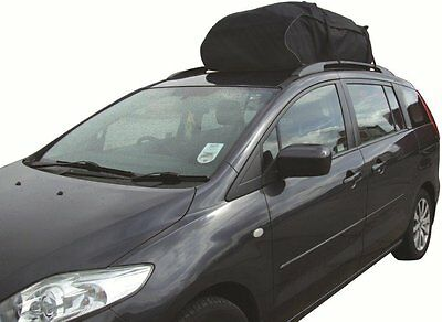 458 Litre Water Resistant Car Roof Travel Cargo Bag Box Storage Carrier SWRB9