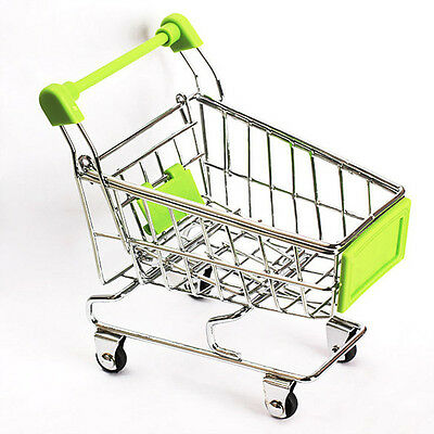 Supermarket Trolley - Miniature - Shopping - Child's  Play Toy Gift -  BRAND NEW