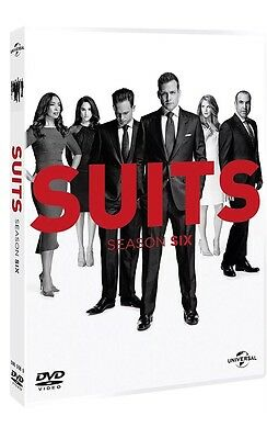 Suits Season 6 DVD BRAND NEW SEALED Region 4